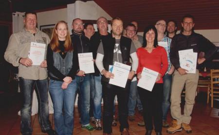 Die Gewinner des HarzCups 2013