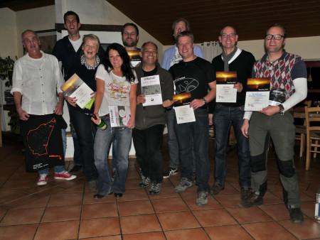 Gruppenfoto der Sieger