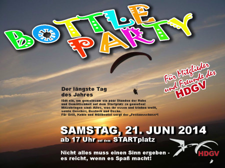 Bottleparty HDGV